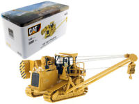 CAT CATERPILLAR 587T PIPELAYER WITH OPERATOR 1/50 MODEL BY DIECAST MASTERS 85272