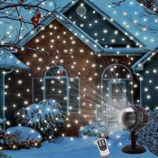 Snowfall Projector Lights LED Christmas Decoration Waterproof 300degrees Adjust