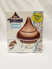 Hershey Kisses Dessert Fondue Kit Collectible Candy Accessory NEW OPEN BOX