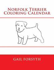 Norfolk Terrier Coloring Calendar