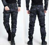 Outdoor Men Military Army Cargo Camo Work Combat Trousers High Quality Pants Hot