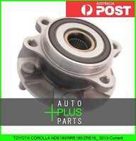 Fits TOYOTA COROLLA NDE180/NRE180/ZRE18_ 2013-Current - Front Wheel Bearing Hub