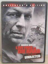 Live Free Or Die Hard Collector's Edition Unrated Bruce Willis Justin Long