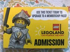 LEGOLAND California Resort Hopper Tickets (Legoland + Sea Life + Water Park)