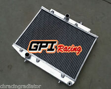 NEW Aluminum Radiator FOR TOYOTA STARLET TURBO EP71 2E-TELU MT 1984-1989 85
