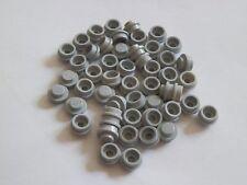 Lego 4073# 50x Basic Platte Stein rund flach 1x1 grau neu hellgrau