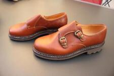 5d1195a344f563 Chaussure soulier à boucle en cuir BALLY FRANCE Taille 9
