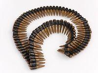 "60"" Bullet Belt ADJUSTABLE LENGTH Costume Bandolier Rambo Army SWAT Gun Bullets"