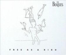 Free as a Bird USA Single Beatles CD 1995 EMI 4 Songs This Boy Christmas Time