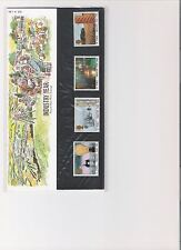 1986 ROYAL MAIL PRESENTATION PACK INDUSTRY YEAR MINT DECIMAL STAMPS