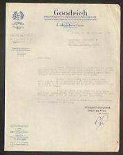 """COLOMBES (92) USINE de PNEUS & CAOUTCHOUC """"GOODRICH"""" en 1937"""
