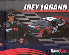 2008 Joey Logano Gamestop Toyota Camry NASCAR postcard