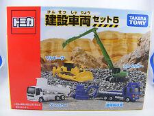 4 ensemble de véhicules de construction Benne,Chenille,Excavatrice,de
