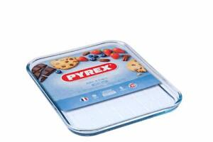 Pyrex Transparent Oven safe Scratch Resistant Glass Baking, Roasting Tray