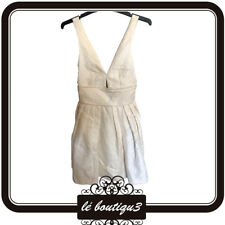 SHEIKE Marilyn Monroe Style Off White Dress Size 6 (A34)