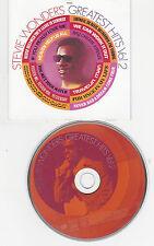 CD 12T STEVIE WONDER'S GREATEST HITS VOL.2 BEST OF 1998 MOTOWN