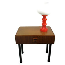 Vintage Nightstand Wood Mid Century Danish Modern style End table Commode Funky