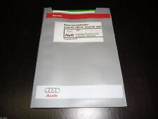 Werkstatthandbuch Audi 80 90 Typ 89 4 Zylinder Einspritz Motor 5 Ventiler ADR