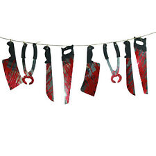Halloween Party Hanging Garland Pennant Banner Decoration Spooky Haunted House