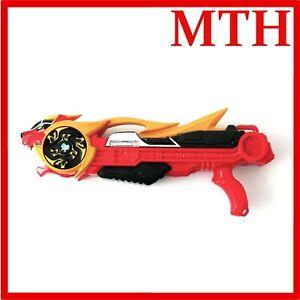 Power Rangers Super Ninja Steel Lion Blaster Gun with Sounds Bandai VGC