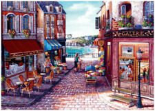 Seaside Stroll- 1000 Piece Puzzle by Ravensburger (FREE SHIPPING)