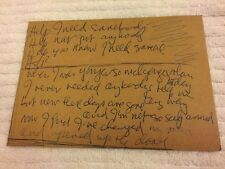 HARD ROCK VAULT Orlando RARE 2002 Launch Postcard JOHN LENNON BEATLES HELP! 5x7