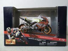 2004 MAISTO 1/18 SCALE #46 VALENTINO ROSSI VALENCIA REPSOL HONDA RC211V MOTO GP