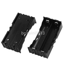 Dual Li-ion Battery Holder Case for 18650 Rechargeable Battery 4Pin Contact CA