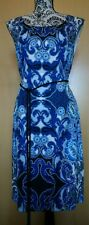 Brand new Blue floral oriental Phase Eight Dress size 16