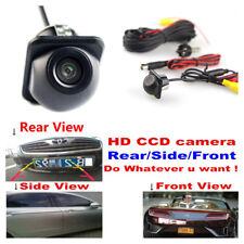 HD IP 68 170° Auto Car Side View Rear Vision Camera Reversing CCD Night Vision