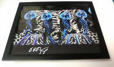 INFECTED MUSHROOM Electronica SIGNED + FRAMED 11x14 Photo Poster