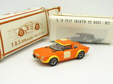 FDS Kit Monté 1/43 - Fiat 124 Abarth Rally 1972