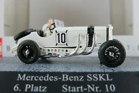"Busch 48301 Mercedes-Benz SSKL (1928) ""Hans Stuck"" in weiß 1:87/H0 NEU/OVP"