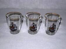 Canada Shot Glass Lot of 3