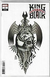 Marvel Comics King in Black #1 Bederman Tattoo Variant Cover Knull vs Venom