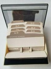 Rolodex Card File S300c Office Desktop Contact Organizer Business Card Keeper
