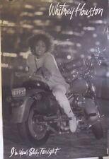 "Whitney Huston | I'm Your Baby Tonight ""Nippy"" | 1991 Arista Album Promo Poster"