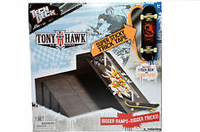 Tech Deck Tony Hawk Big Ramps with Board Big Pyramid with Ledge - Brand New