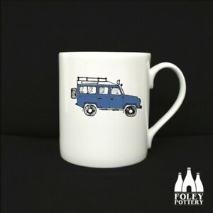 CB: Land Rover, Off Road, 4 x 4, tribute, Fine Bone China Mug By Foley Pottery