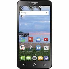 "Alcatel Pixi Glory Straight Talk 4G LTE 5.5"" Prepaid Smartphone T-Mobile Towers"