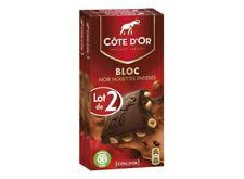 Lot revendeur 10 Chocolat noir et noisettes entières, Côte d'Or  dlc longue