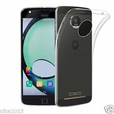 Transparent Soft Silicon Ultra Thin Back Case Cover For Motorola Moto Z Play