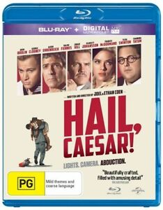 Brand New & Sealed - Hail, Caesar! (Blu-ray, 2016)