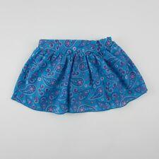 Gum Balls Girls Skirt Mini with Shorts Blue Floral Size 12 Months