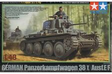 Tamiya 32583 Maquette 1/48 German Panzer 38(t) Ausf.E/F