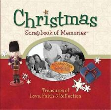 Christmas Scrapbook of Memories - Good - Thomas Nelson - Spiral-bound