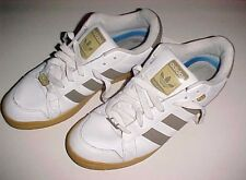 adidas Trefoil Evolution Men Boys White Brown Leather Sneakers Athletic Shoes 13