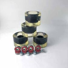 Pu Transparent 60*45mm Wheels Abec-9 Bearings Spacers 16pcs Skateboard Part Set