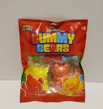 New Genuine Silly Squishies GUMMY BEARS sz 3in/2in