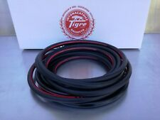 Rubber hose for 10 meters compressed air, complete with fittings